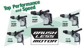 hitachi power tools. brush less motor hitachi power tools