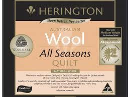 All Seasons Wool Quilt   Bevmarks &  Adamdwight.com
