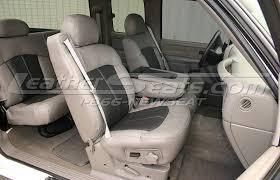 cool chevrolet silverado two tone smoke w graphite inserts leather interior with chevy silverado custom interior