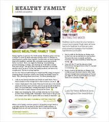 Nutrition Newsletter Templates Newsletters Template Gratulfata