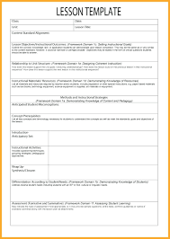 Free Printable Lesson Plan Template Toddler Weekly Lesson Plan Template Diadeveloper Com