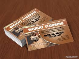 business card wright flooring