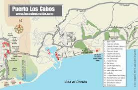 los cabos map puerto los cabos san josé del cabo los cabos baja