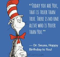 Dr Seuss Birthday Quotes. QuotesGram via Relatably.com