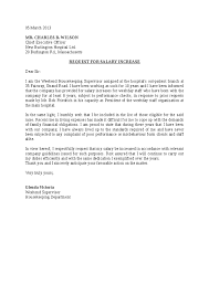 Request For Pay Raise Pay Raise Letter Insaat Mcpgroup Co