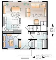 House Plan W3716 Detail From DrummondHousePlanscomModern Open Floor House Plans
