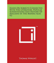 essays on superstitions essays on subjects connected the  essays on subjects connected the literature popular essays on subjects connected the literature popular superstitions and
