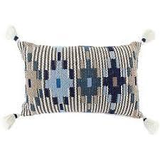 <b>Подушка декоративная Ethnic</b>, с кисточками купить: цена на ...