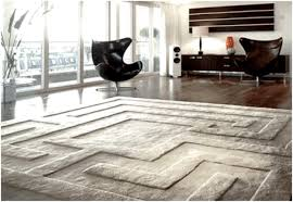 Modern Living Room Rug Living Room Zebra Rug A Modern Living Room With Contemporary