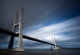 Ponte Vasco Da Gama Fotobehang Behang Bestel Nu Op Europostersnl