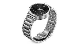 huawei smartwatch black. the huawei watch, which starts from $649, has a 42mm circular face. smartwatch black