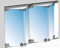 crl arch bi folding glass doors