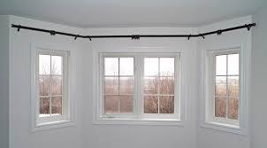 Bay Window Curtain Rods - 3