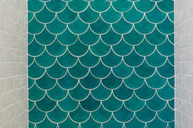 Moroccan Bathroom Tile Moroccan Fish Scale Tile Bathroom Trends Construction2style