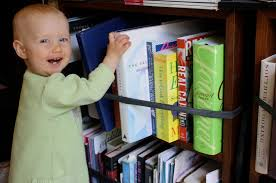 how to ba proof a bookshelf babies child proof and pas child proof bookshelves