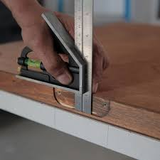 marking the distance from the mortise to the door edge