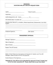 Time Off Request Form Pdf Request Off Form Leyme Carpentersdaughter Co