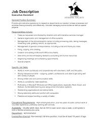 best photos of administrative assistant job description executive administrative assistant job description