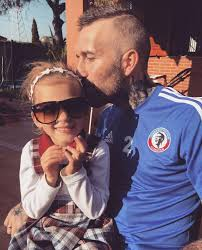 Rangers hero Fernando Ricksen still manages to play football with daughter  – despite battle with motor neurone disease