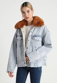 levi s oversized sherpa trucker denim jacket killing me softly zalando co uk