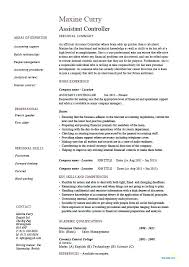 Controller Resume Examples Amazing Resume Samples For Accounting Resume Web