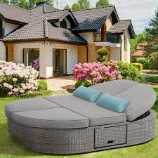 Round Outdoor Bed 5tao Round Tao Day Bed Outdoor A 2570902346 Day Design Inspiration