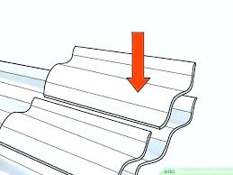 installing corrugated metal roofing yourself install corrugated metal roofing installing metal roofing on a lean to