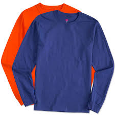 Long Sleeve Shirt With Design On Sleeve Long Sleeve Round Neck Swen Customizers Your Destination