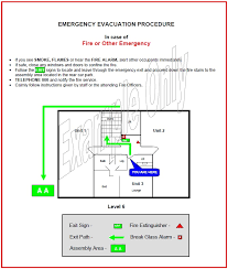 Evacuation Plan Sample Forms And Templates