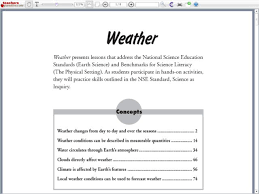 Daily Weather Observations Chart Graphic Organizer For 3rd