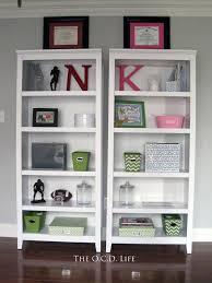 office book shelf. His \u0026 Hers Office Bookshelf Decor {Home Office} Book Shelf