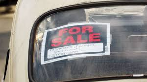 For Sale Sign On Car Ten Things To Do When Youre Selling Your Car