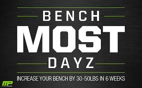 Increase Bench Press Workout Chart Dumbbell Bench Press Workout Increase Bench Press Routine