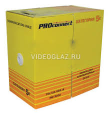 PROCONNECT <b>Кабель FTP</b> 4PR 24AWG <b>CAT5e</b> Outdoor, 305м LT ...