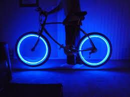 Bike Neon Lights Blue Neon Bike Lights