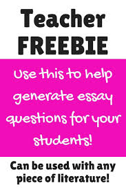 best ideas about essay generator high school creating essential questions in three steps