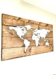 world map wall decor wall decor map of the world rustic wood world map rustic decor world map wall decor