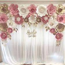 Paper Flower Wedding Backdrops Modern Paper Flower Wedding Backdrop More Color Size D I Y