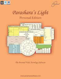 Jyotish Birth Chart In Hindi Parasharas Light Astrology Software Personal Edition English Hindi For Windows