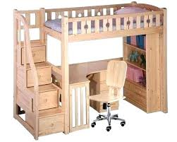 wood bunk bed with desk. Loft Bed With Desk Underneath Bunk Combo Wooden Wood