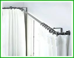 corner shower curtain rod ikea enthralling corner shower curtain rod bathrooms at luxurious curtain rod set
