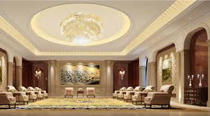 lighting for halls. Lighting And Wall Design Of Business Reception Hall For Halls