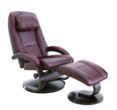 leather recliner and ottoman set new