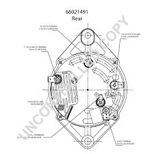 prestolite leece neville 66021491 rear dim drawing