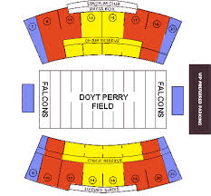 Doyt Perry Stadium Seating Chart Ticket Solutions