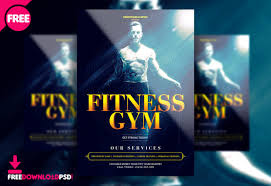 Training Flyer Templates Free Free Fitness Gym Flyer Psd Template Freedownloadpsd Com