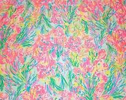 lilly pulitzer fabric for sale. Plain Pulitzer Authentic Lilly Pulitzer Fabric  Fan Sea Pants 100 Poplin Cotton Intended For Sale