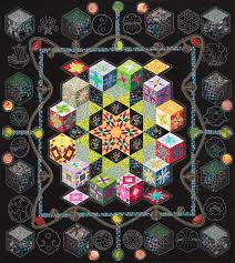 188 best Tumbling blocks quilts images on Pinterest | Auction ... &