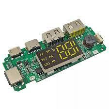 Mạch sạc dự phòng 2 cổng USB, Iphone, Micro USB và Type-C 5V 2.4A - Nshop