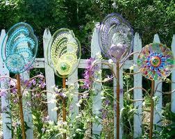 full image for diy glass plate garden art more garden flower art glass garden art diy
